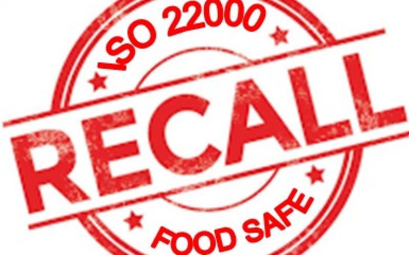 ISO 22000:2018 – ĐK – 8.9.5  THU HỒI/TRIỆU HỒI