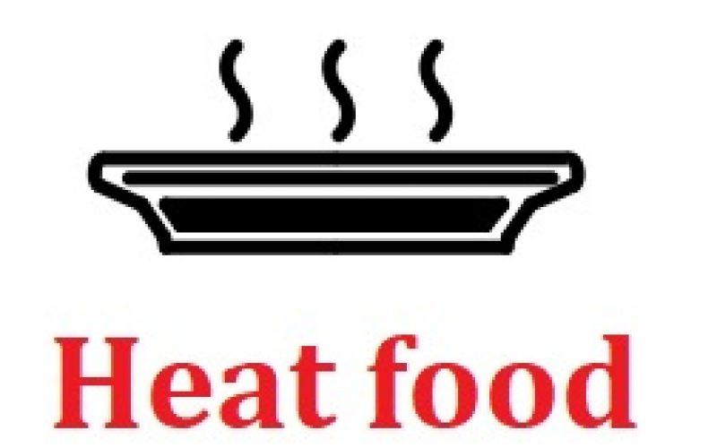 NHIỆT ĐỘ TÂM TỐI THIỂU AN TOÀN được đo bằng nhiệt kế thực phẩm